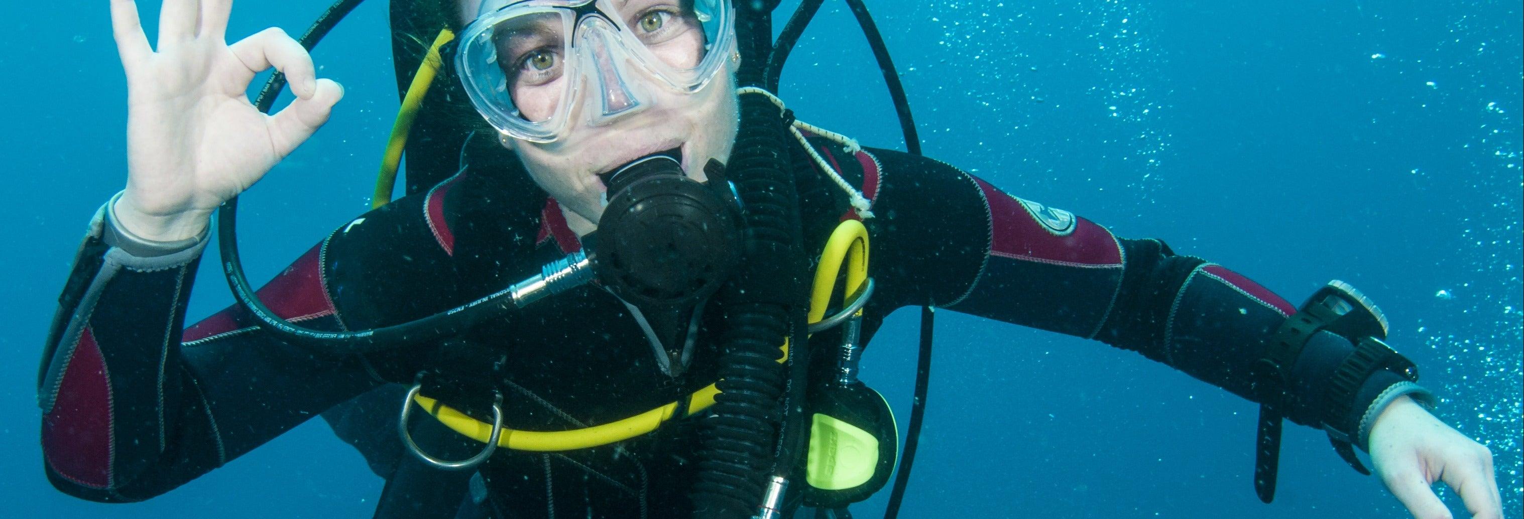 Curso de buceo PADI Open Water en Isla del Caño