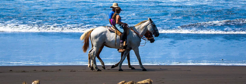 Paseo a caballo por Bahía Drake