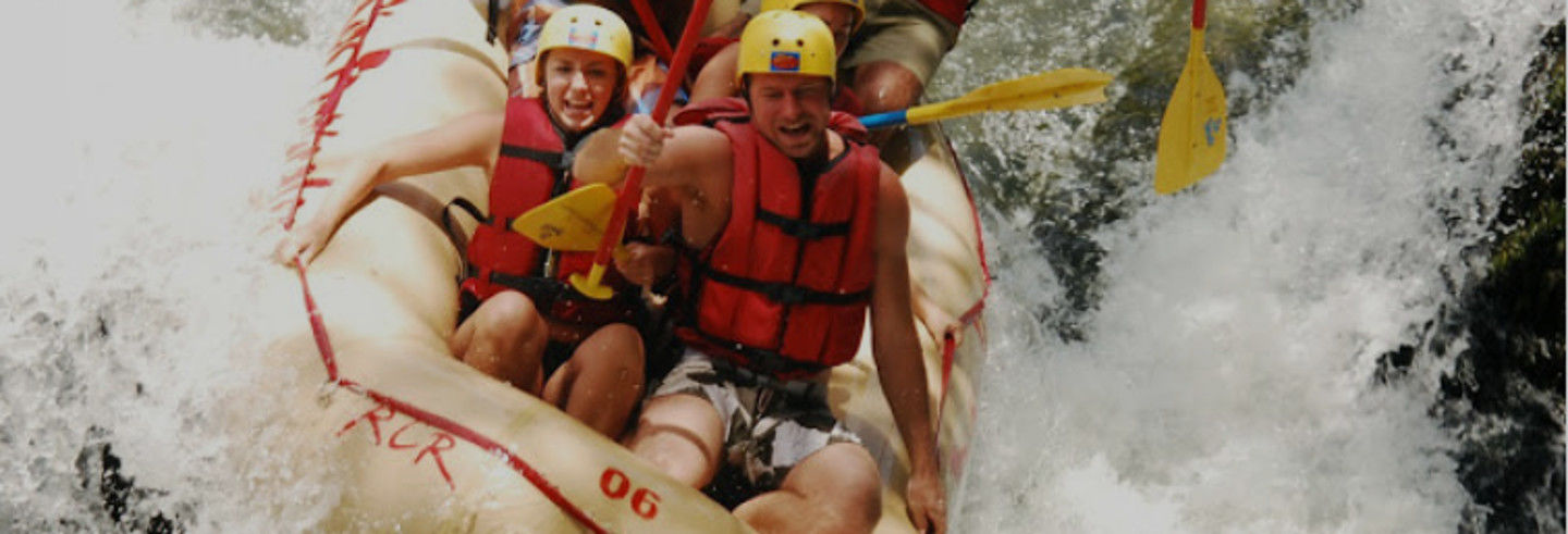 Rafting sul fiume Tenorio