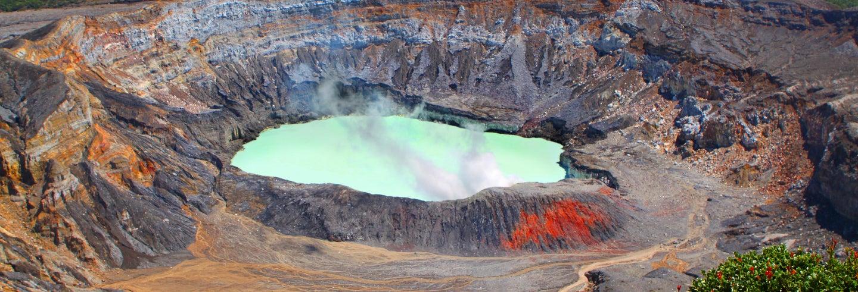 Excursión al volcán Poás y Doka Estate