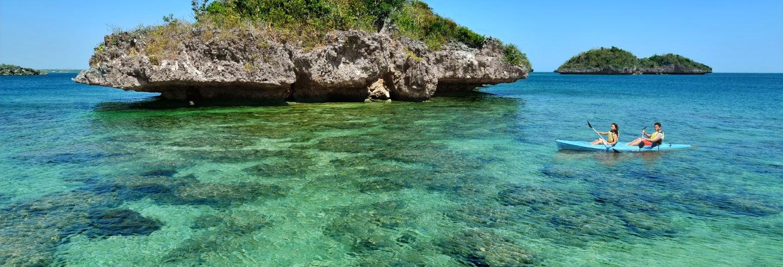 Kayak y snorkel en Playa Agujas