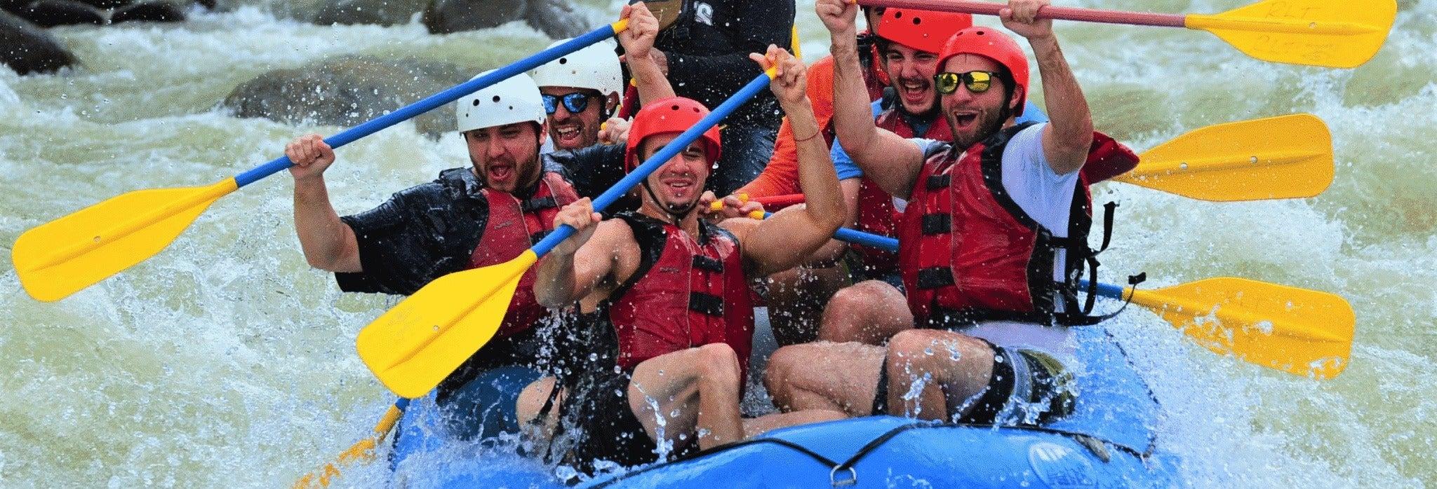 Rafting sul fiume Savegre