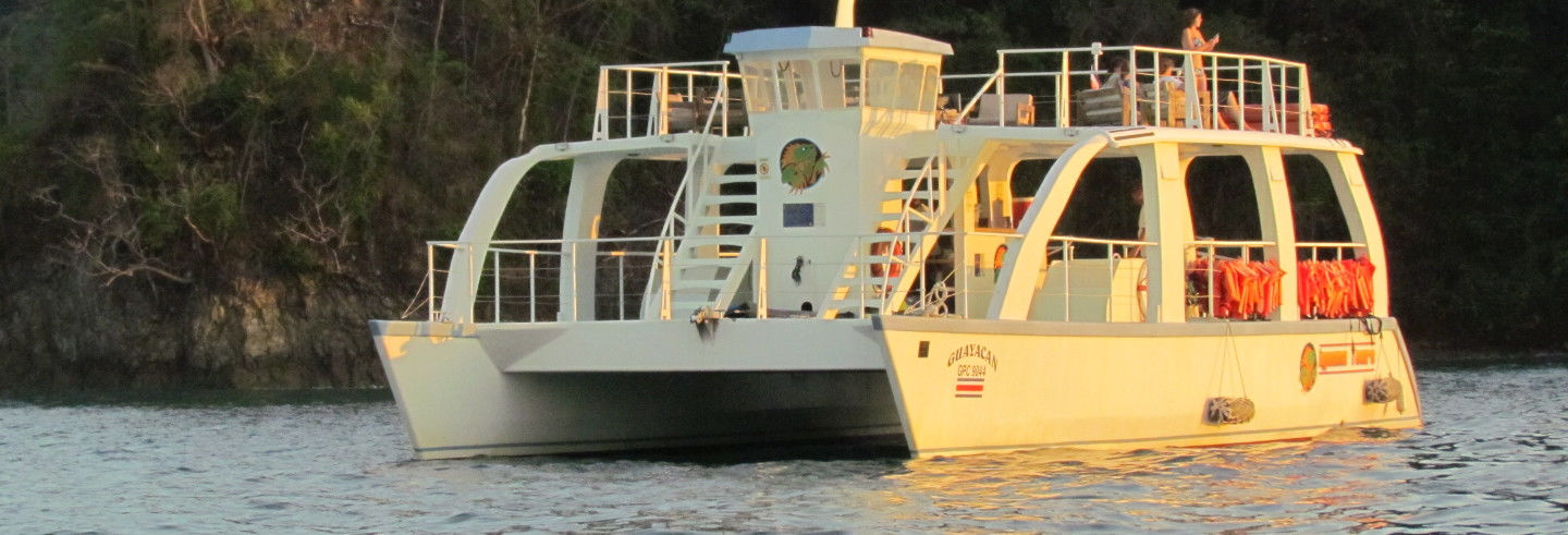 Paseo en catamarán y snorkel en Manuel Antonio