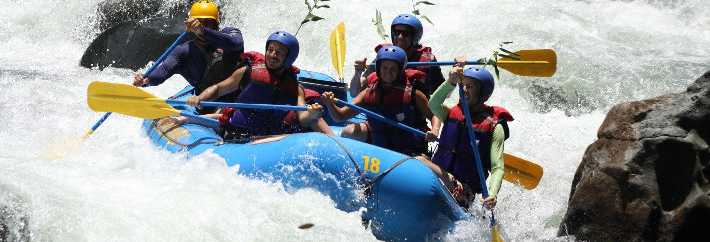 Rafting sul fiume Pacuare