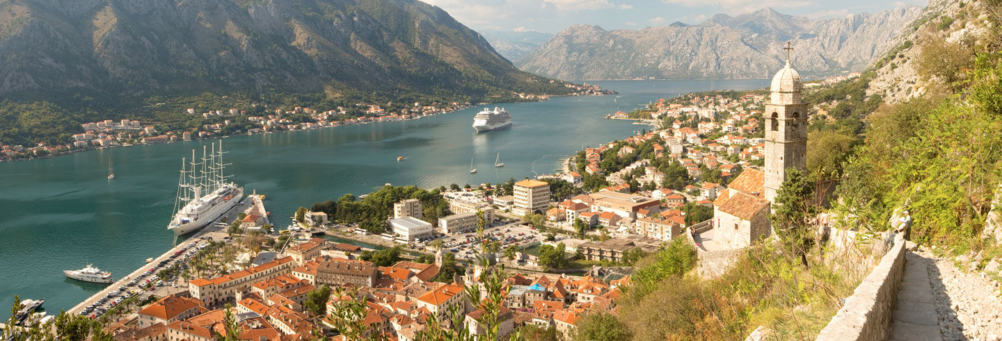 Excursion sur la baie de Kotor