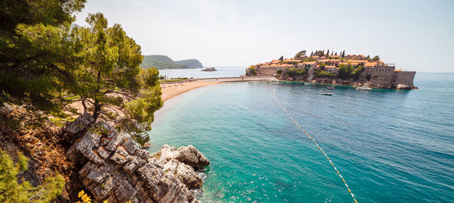 Excursión por las costas de Montenegro