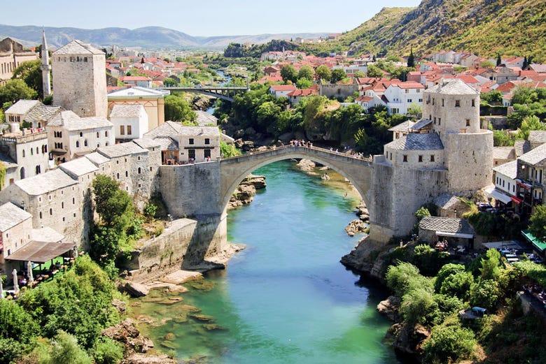 ,Excursión a las Cascadas de Kravice,Excursión a Mostar,Con Cascadas de Kravice