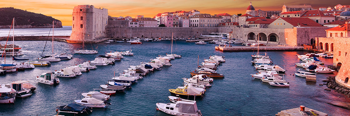 Vieux port de Dubrovnik