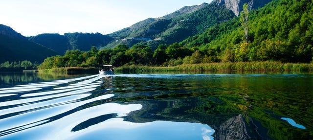 Barranquismo en el río Cetina
