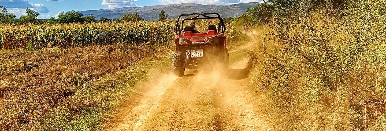 Tour de buggy pelo vale de Sinj