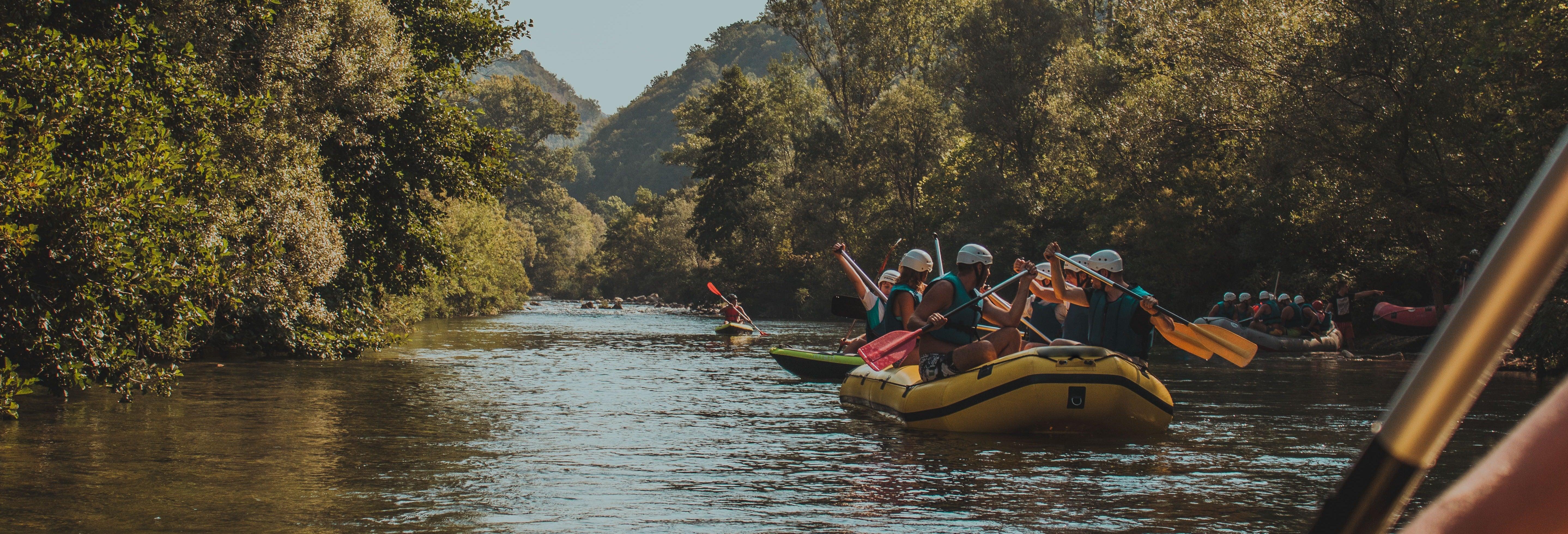 Tour en kayak por el río Cetina