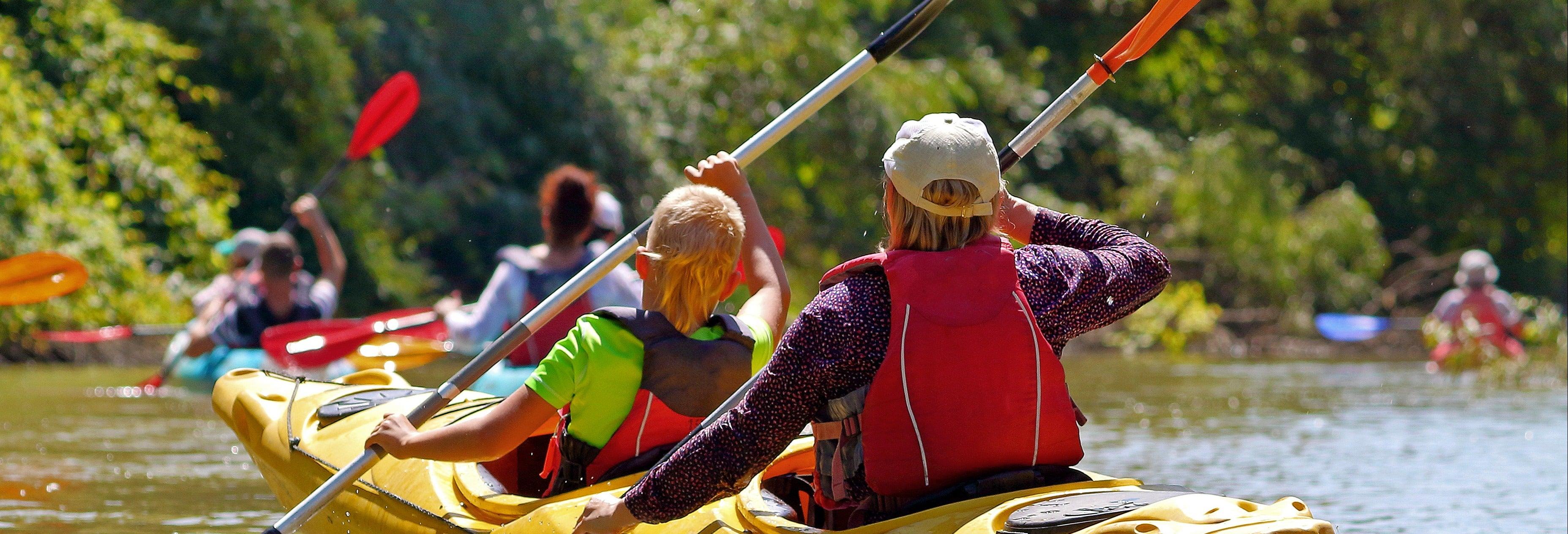 Tour en kayak por el Adriático y el río Žrnovnica