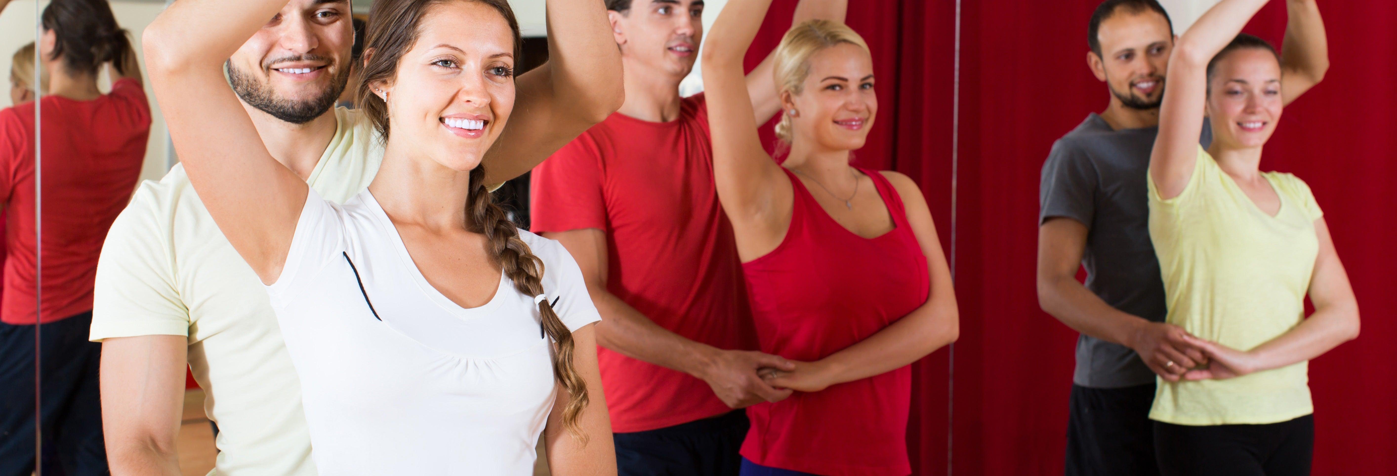 Clase de baile en La Habana