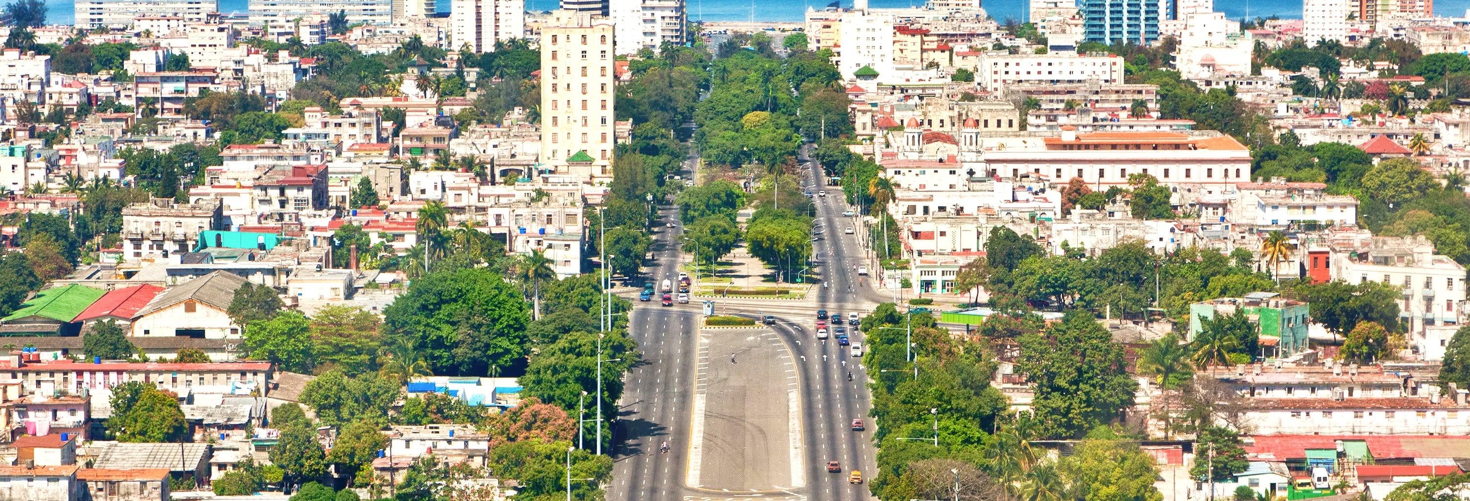 Free tour dans La Havane moderne. C'est gratuit !