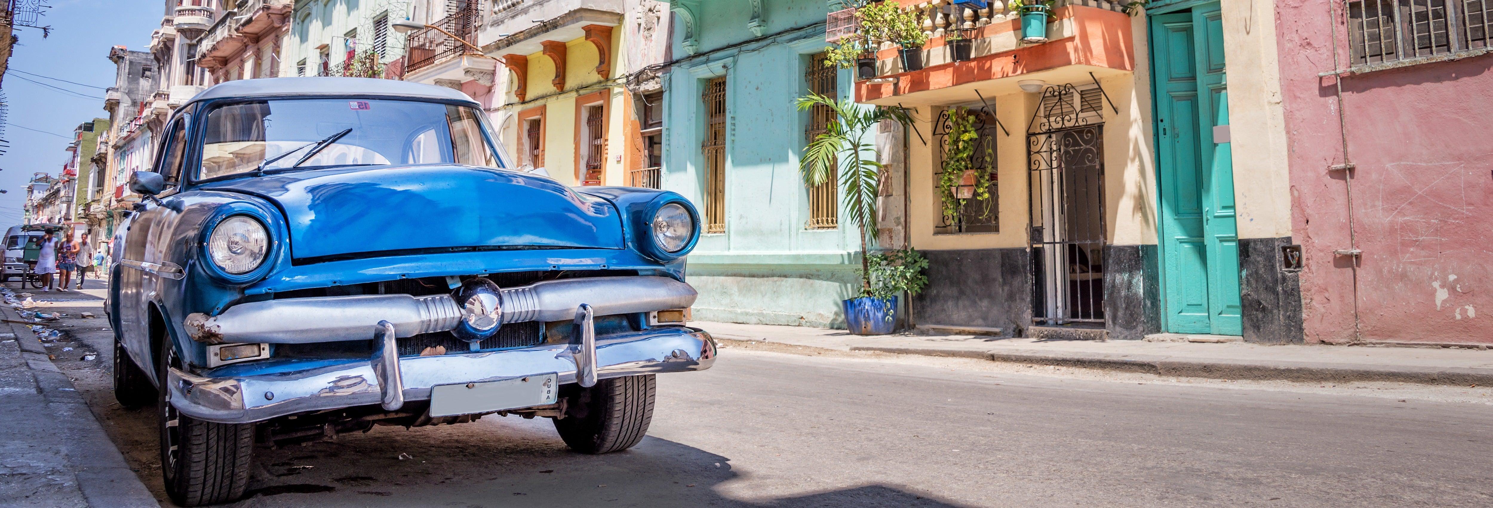 Paseo privado en coche clásico por La Habana