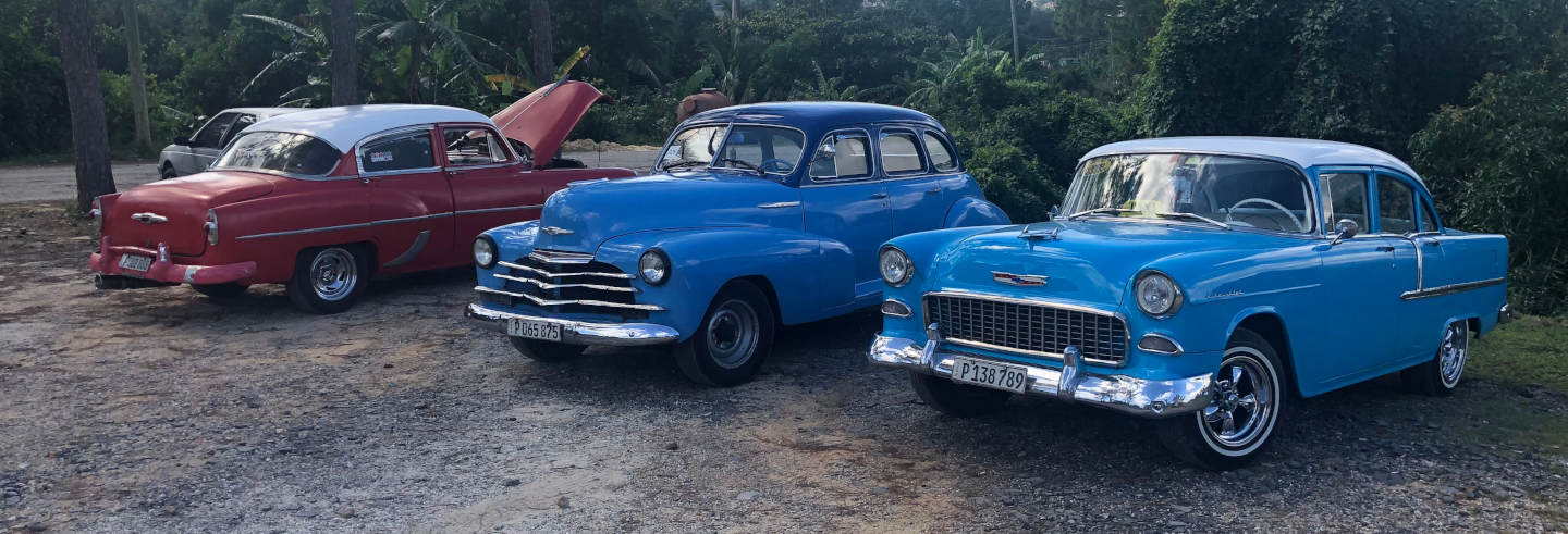 Viñales Valley by Classic Car