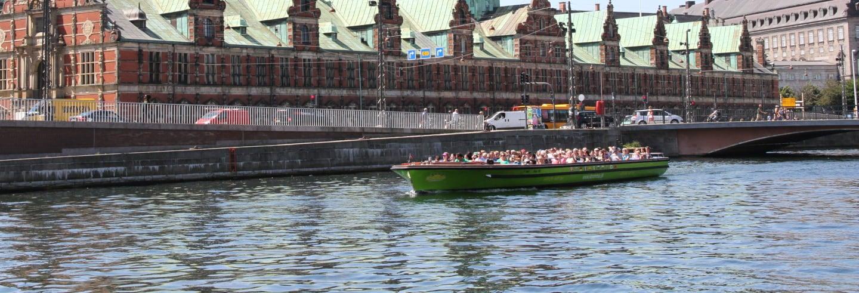 Bateau touristique de Copenhague