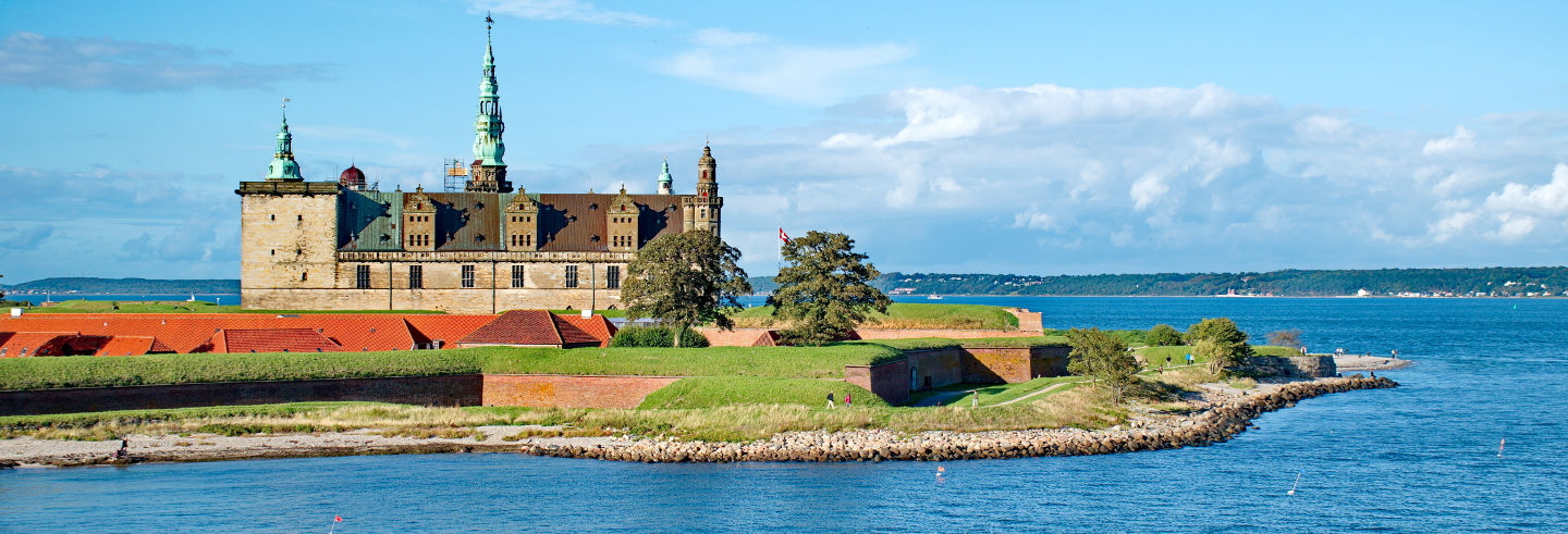 Castillos de Kronborg,Frederiksborg yFredensborg