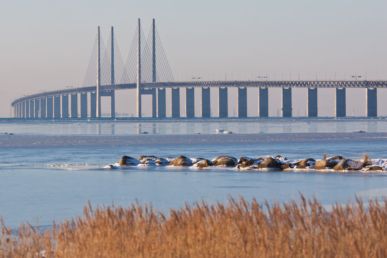 Puente Øresund, entre Suecia y Dinamarca