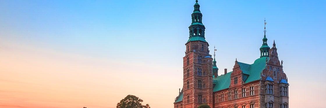 Castelo de Rosenborg em Copenhague