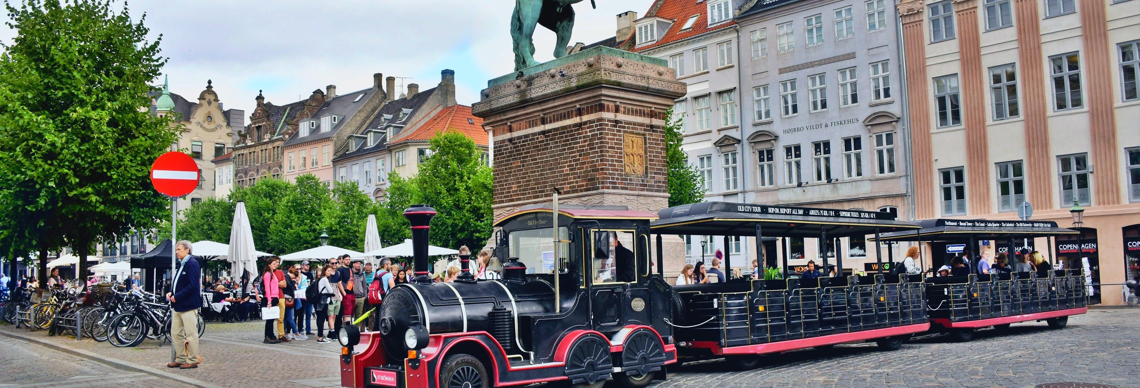 Trem turístico de Copenhague