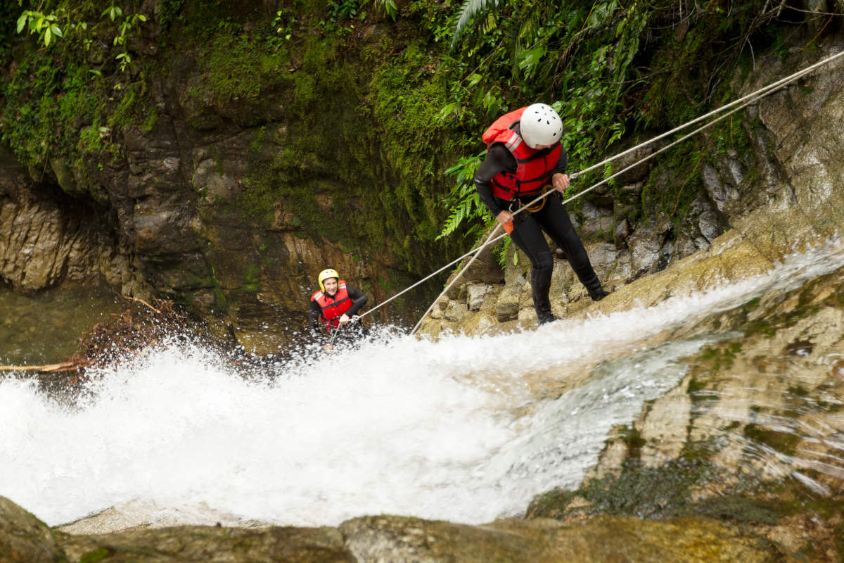 Canyoning sur le río Blanco