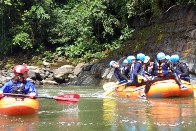 Rafting sur le río Pastaza
