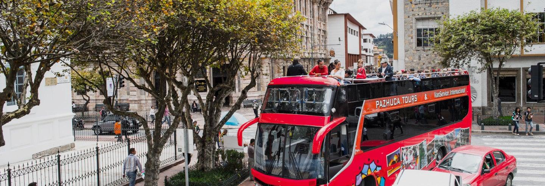 Autobus turistico di Cuenca