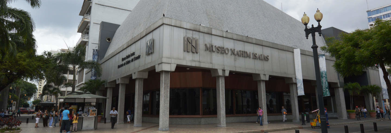 Visite guidée du musée de Nahim Isaías