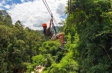 Zipline sul Bosque Mindo Nambillo