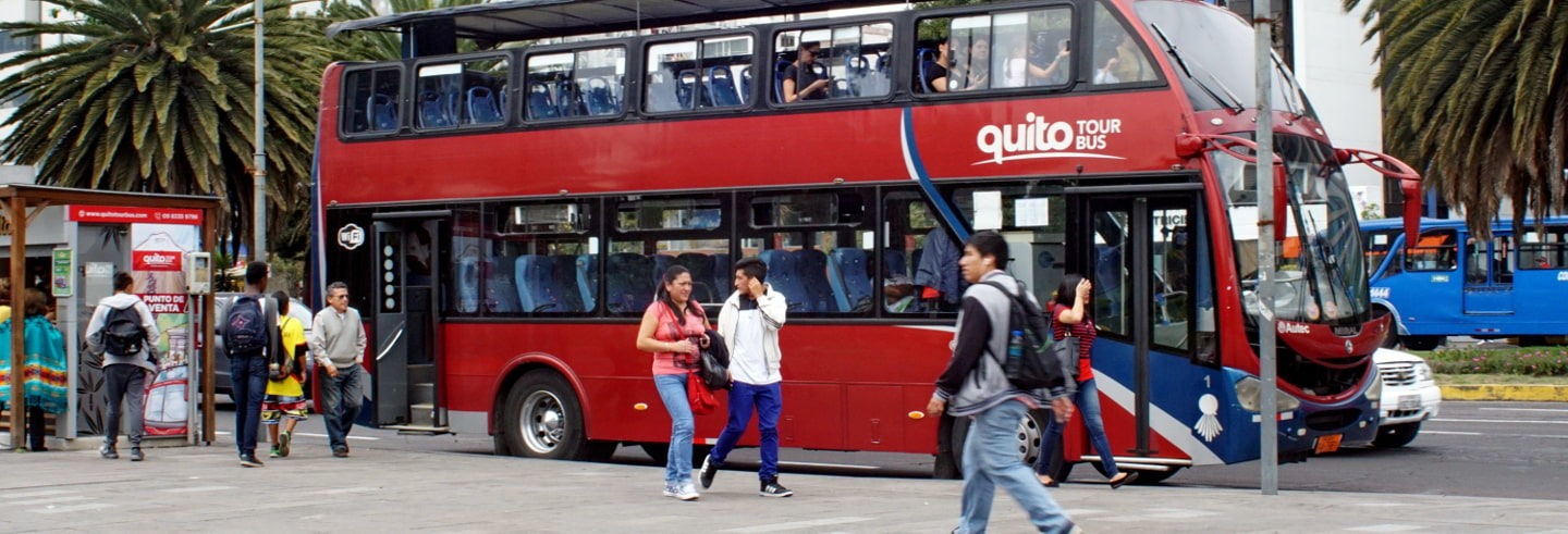 Autobús turístico de Quito