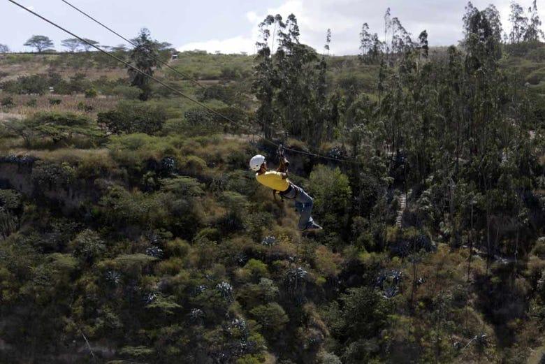 Journée aventure à Quito
