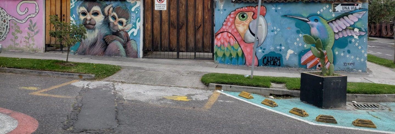 Tour de arte urbano por Quito