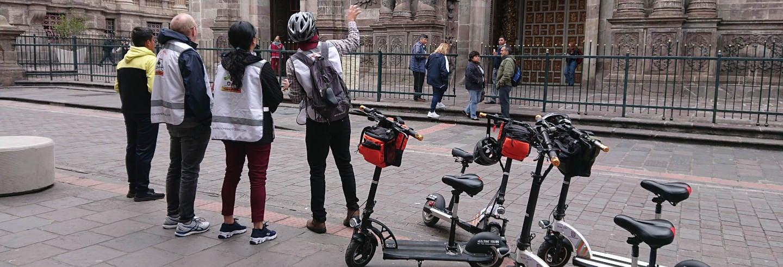 Tour de patinete elétrico por Quito