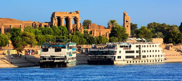 Crucero por el Nilo de 3 noches de Asuán a Lúxor