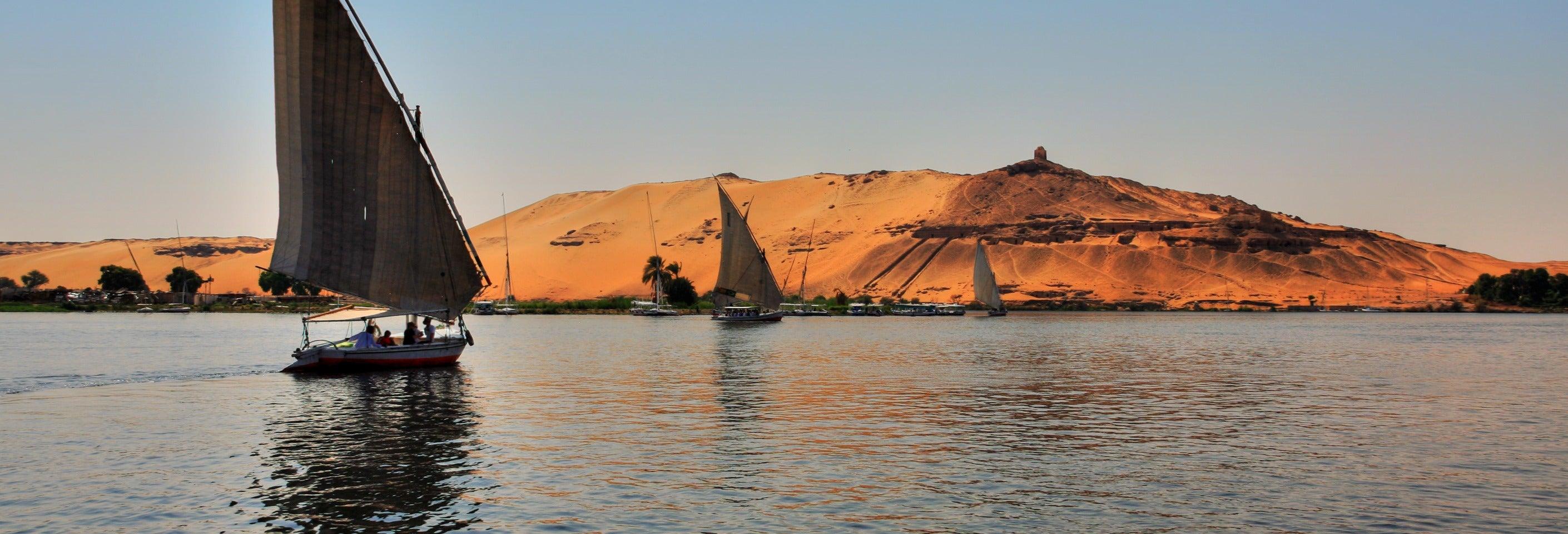 Paseo en barco por el Nilo
