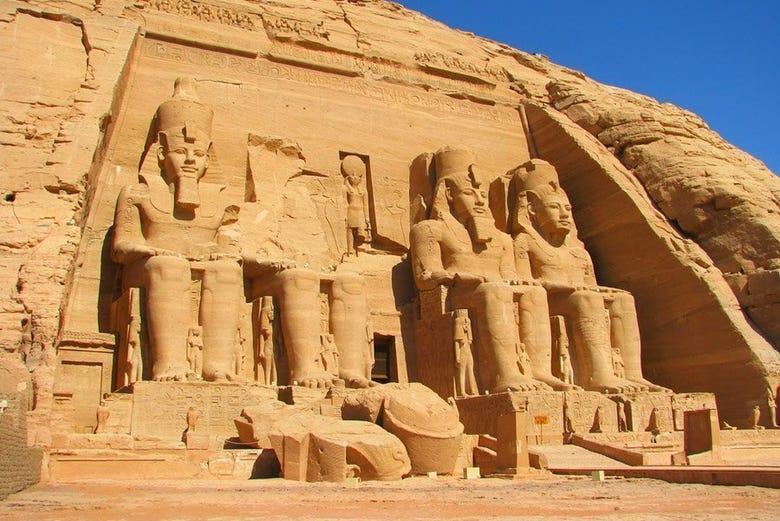 Il tempio di Abu Simbel