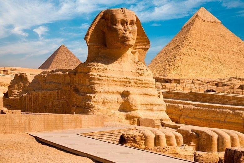 egipto al completo 8 días con todo incluido el cairo