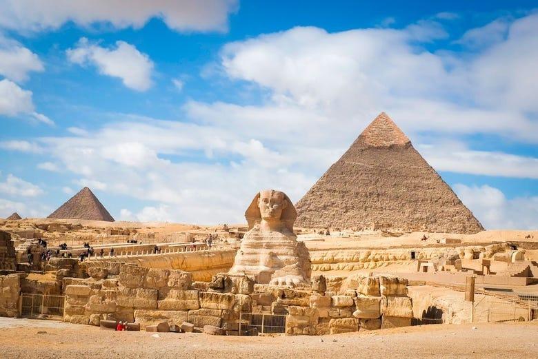 ,Pirámides de Gizeh,Pyramids of Giza,Excursión a Saqqara,Excursion to Saqqara