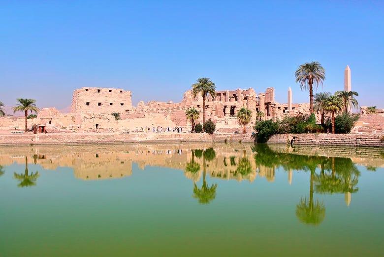 Visita al tempio di Karnak