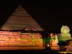,Pirámides de Gizeh