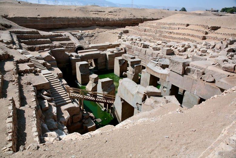 ,Excursión a Dendara,Excursión a Abydos