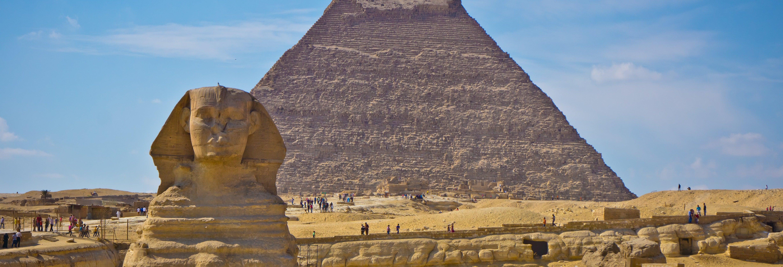 Excursão ao Cairo e às pirâmides de Gizé