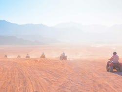 ,Excursión a Monte Sinaí,Ruta en Quad por el desierto