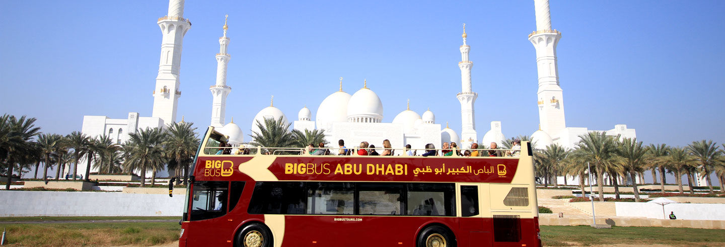 Abu Dhabi Hop-On Hop-Off Bus Tour