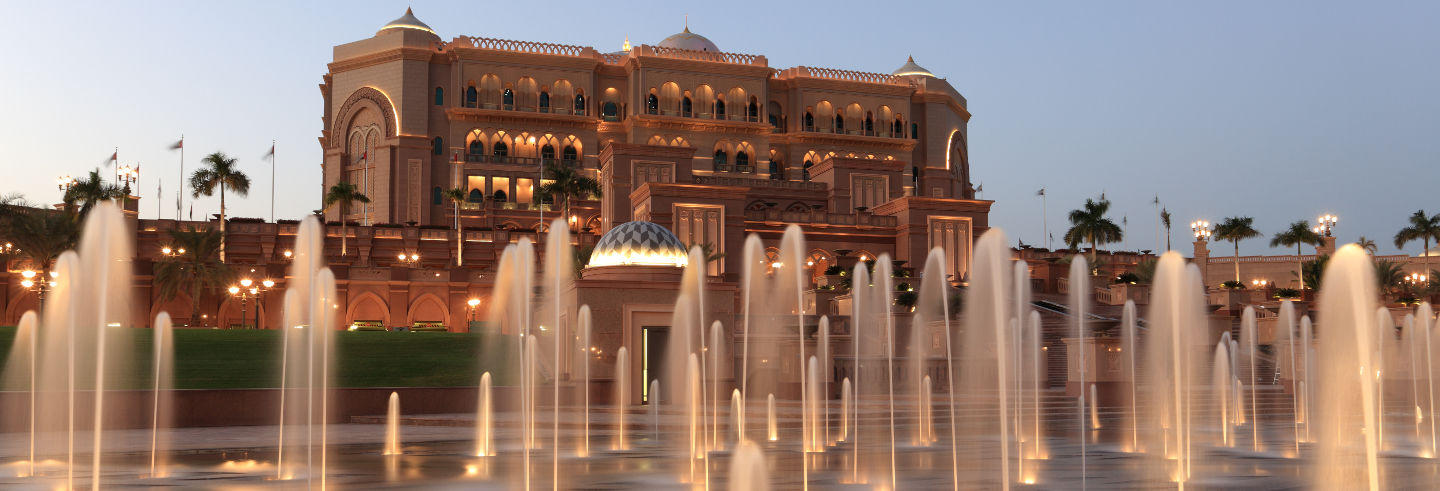 Cena all'Emirates Palace