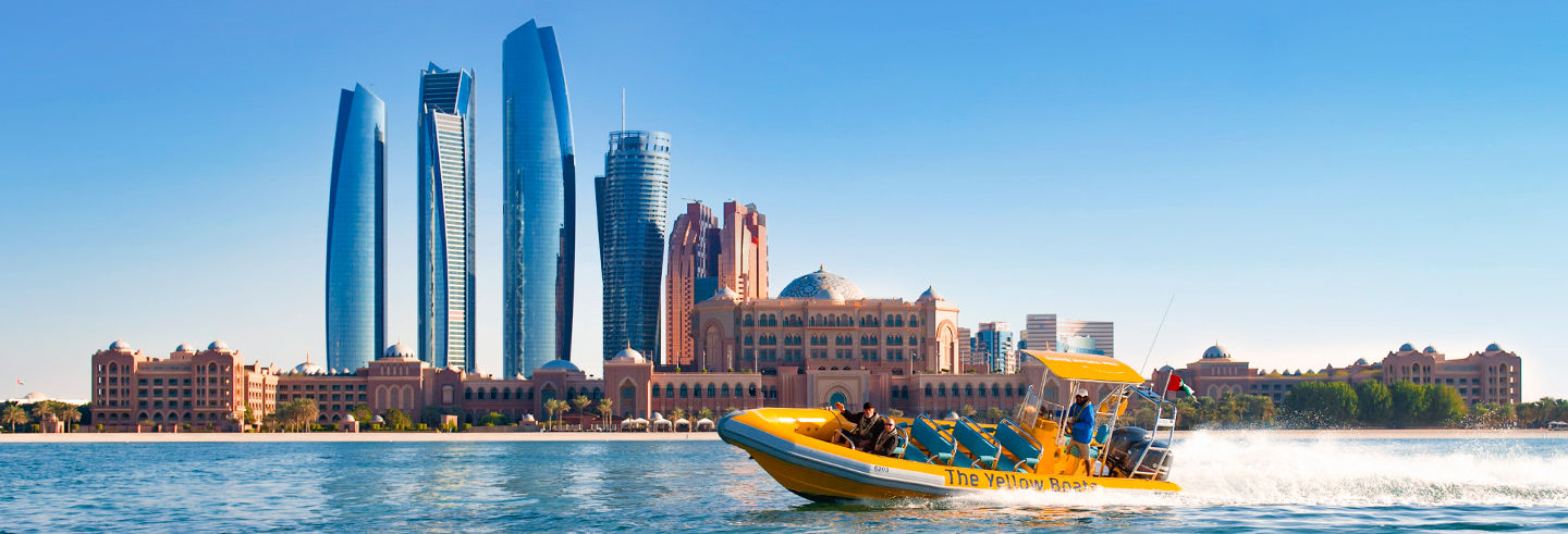 Abu Dhabi Speedboat Sightseeing Tour