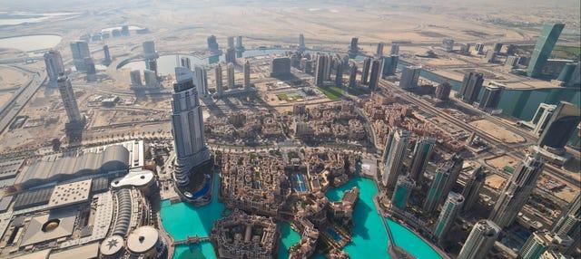 Entrada al Burj Khalifa ¡hasta la planta 148!