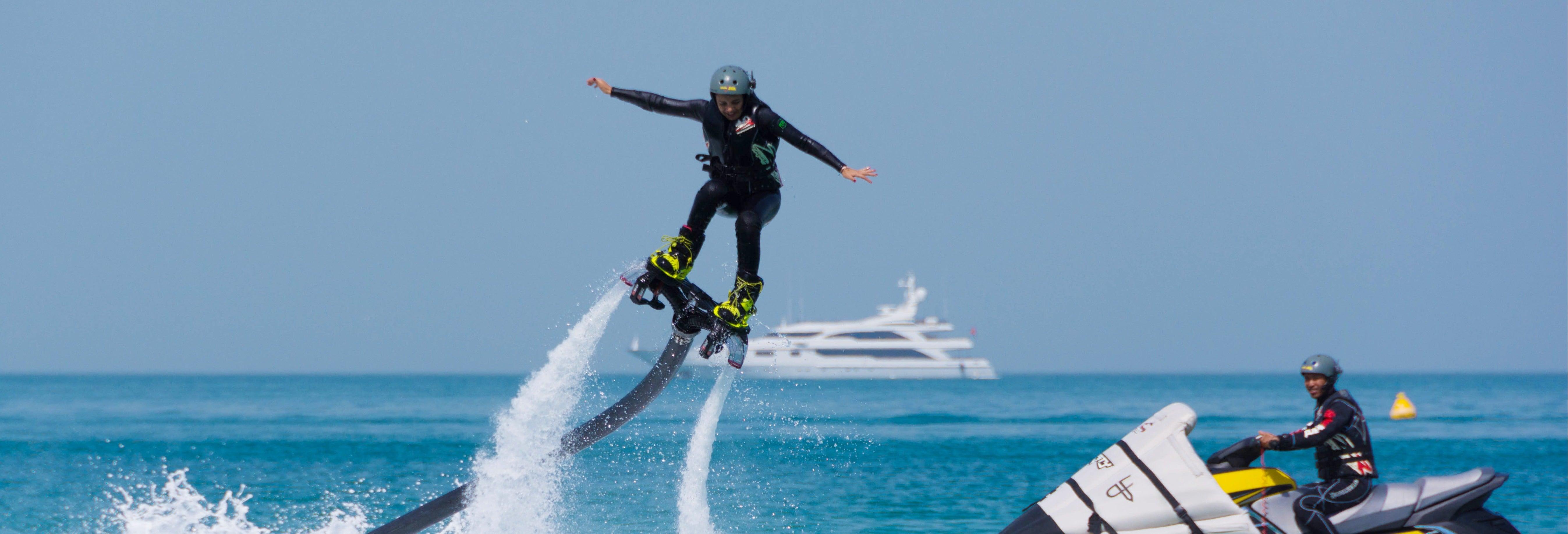 Flyboard à Dubaï