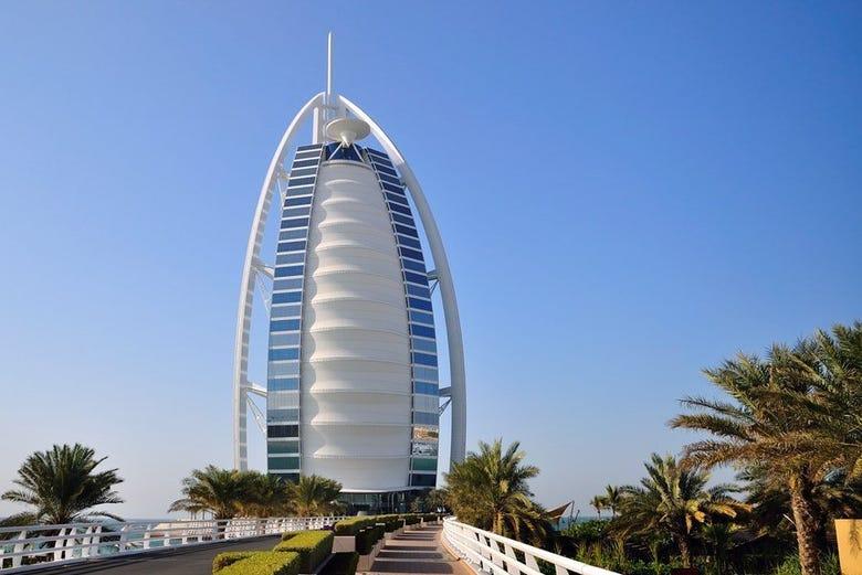 Burj al Arab y Jumeirah Beach